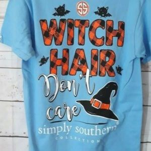 Simply Southern Witch Hair Don't Care Halloween